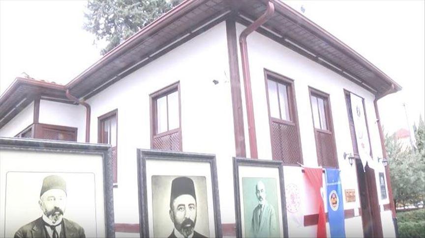 Poet av tyrkisk nasjonalsangen forkjemper for Muslimske verden